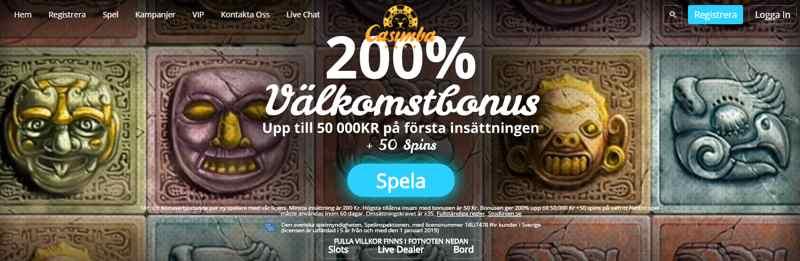 Casimba är ett helt nytt online casino som intog scenen 2017