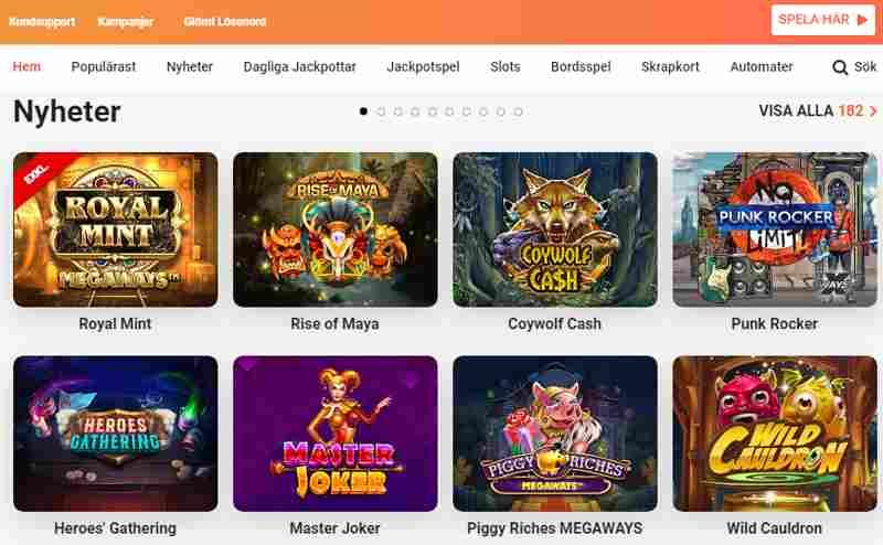 Leovegas. Välkommen till ett prisbelönt svenskt online casino! Här hittar du Sveriges bästa utbud av casinospel för din mobil och surfplatta