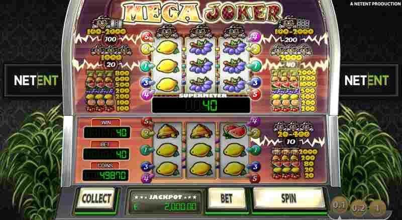 Mega Joker Progressive Jackpot Slot